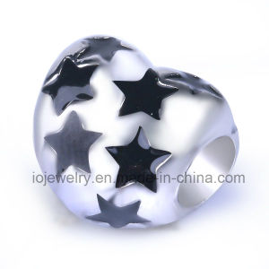 Christmas Starry Heart Jewelry Gift Custom Metal Beads pictures & photos