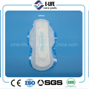 Nice Print Wings Sanitary Napkin Sanitary Towel Factory pictures & photos
