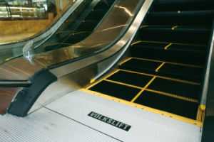 35 Degree Vvvf Control Indoor Escalator With Skirt Panel Light