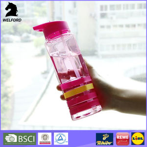 Professional Water Bottle with Silicone Band