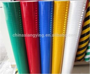 1.22m Width High Visibility Diamond Grade Micro Prismatic Type Safety Reflective Sheeting pictures & photos