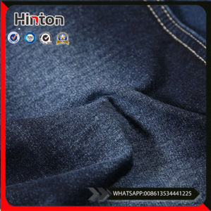 China Stocklot Cotton Poly Stretch Denim Fabric pictures & photos