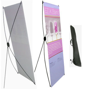 X Banner Mockup Display System for Events Lectures Stands pictures & photos