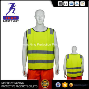 New 100% Polyester High Quality Reflective Safety Vest with Zipper pictures & photos