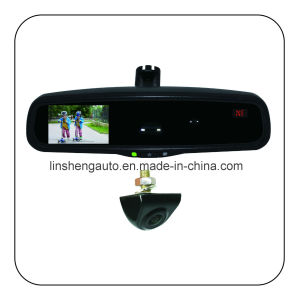 Auto-Dimming Rearview Mirror with TFT/LCD Monitor, Compass and Temperature Display pictures & photos