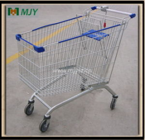 240 Liters Supermarket Shopping Trolley Mjy-240b pictures & photos