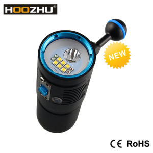 Hoozhu Max 4500lm Diving Video Lamp Waterproof 100m Diving Video Light V40d