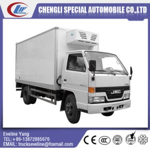 Jmc 108HP Small Freezing Refrigerator Truck for Sale pictures & photos