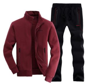 Men′s Jogging Casual Sweatsuit Sport Full Tracksuit (A799)
