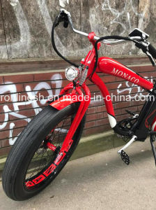 Beach Cruiser/Vintage/Retro 250W/350W/500W Electric 26X4 Fat Tyre Bike/E Fat Tire Bicycle/Electric Snow Bike/E Fatty Bicycle/E Sand Bike/E All Terrain Bike Ce pictures & photos