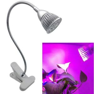 Clip Grow Light Hydroponic Growth Lamp Full Spectrum Plant Lamp pictures & photos