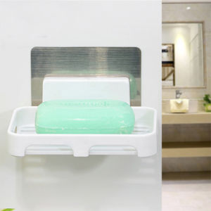 Plastic Soap Dish with Suction Cup