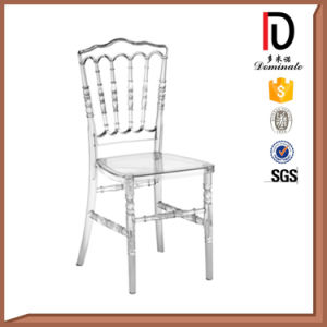 Popular Banquet Wedding Plastic Resin Transparent Clear Napoleon Chair (BR-C005) pictures & photos