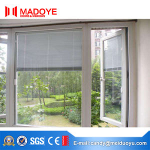 Aluminum Casement Window with Electric Shutters