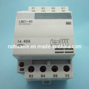 DIN Rail AC Contactor Lnc1-10 pictures & photos