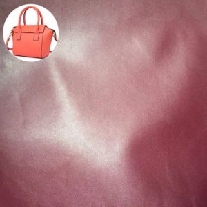 Synthetic PU Leather for Travel Bags Suitcase Hx-B1701 pictures & photos