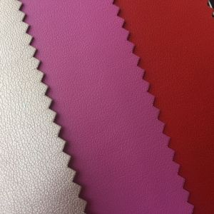 Rhombus PU Leather for Making Package Box Cases pictures & photos