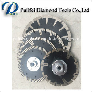 Turbo Concave Dry Wet Sinter Electroplated Cutting Saw Blade