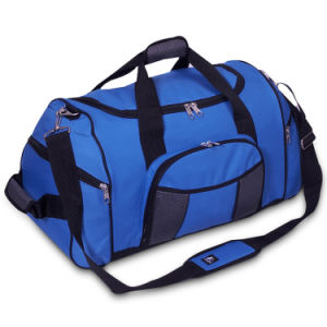 Custom Factory Polyester Duffel Holdall Duffle Bag pictures & photos