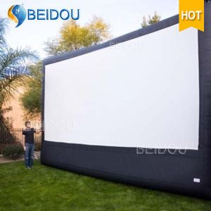 Large TV Cinema Rear Projection Screens Outdoor Inflatable Movie Screen