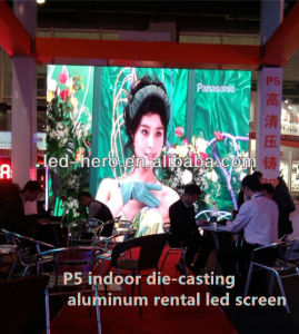 P5 Indoor Big Viewing Angle HD Die-Casting Aluminum China Manufacturer LED Screen-Rental Type