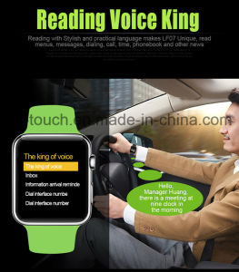 Phone Calls Reminding Smart Watch with Remote Camera Dm09 pictures & photos