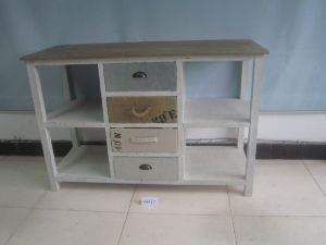 4 Drawer Modern Style Shelf (FCJ04171)