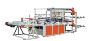 PE Shopping Bag Making Machine with Auto Conveyor Belt System