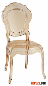 Plastic Acrylic Banquet Wedding Belle Epoque Ghost Chair pictures & photos
