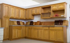 American Style Classical Oak Kitchen Cabinet pictures & photos