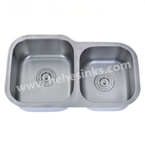 20 Gauge Stainless Steel Kitchen and Bar Sink 7345ar pictures & photos