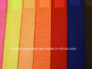 Polyester Plain Wide Width Inherently Fire Retardant Fireproof Voile pictures & photos