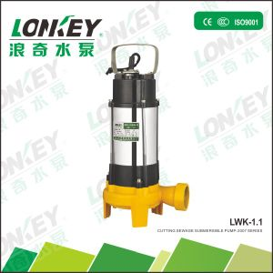 Cutting Sewage Submersible Pump, Dirty Pump, Electric Sewage Pump pictures & photos