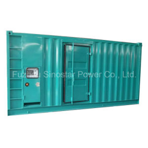 480 Kw 600 kVA Soundproof Type Diesel Generator with Perkins 2806c-E18tag1a