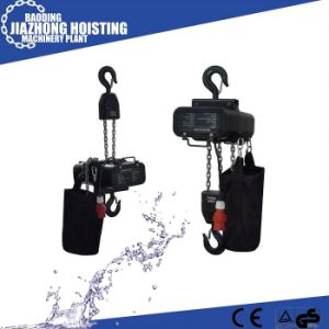 China Manufacturer Competive Quality 0.5ton Stage Electric Hoist