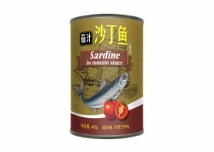 155g Canned Fish Canned Sardine in Tomato Sauce pictures & photos