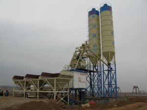 Automatic Cheaper Price Hzs75 (75m3/h) Concrete Mixing Plant pictures & photos