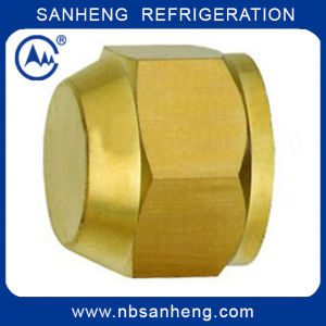 Universal Brass Short Nut for Refrigeration pictures & photos