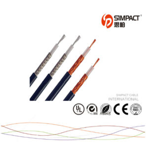 Hight Quality 4G Wire Semi Flexible RF Coaxial Cable pictures & photos