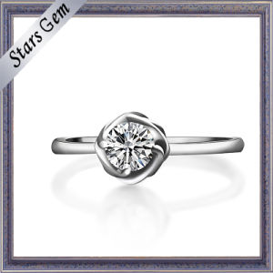 Female Decoration 925 Steling Silver Ring pictures & photos