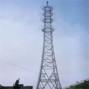 Baode Lights Steel Tubular Pole Top Build Tower Telecommunication Tower pictures & photos