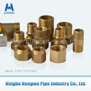 Water Connector Brass Nut Fitting