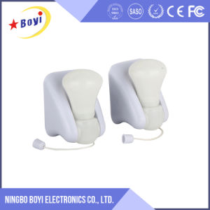 Wholesale Custom White Mini LED Sensor Nightlight with Logo pictures & photos