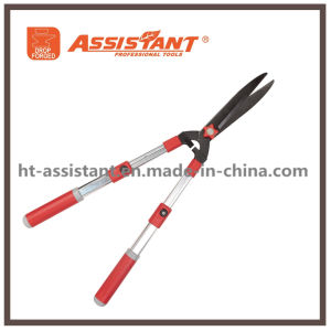 Telescopic Aluminum Handles Hedge Shears with Hardened Steel Straight Blades