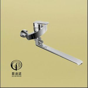 Oudinuo Single Handle Brass Shower Mixer & Faucet 68714-1 pictures & photos
