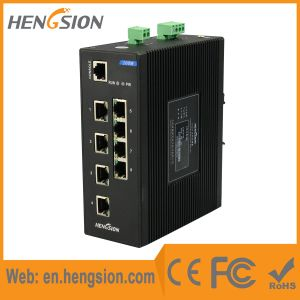 8 Megabit Ethernet Port Industrial Network Switch