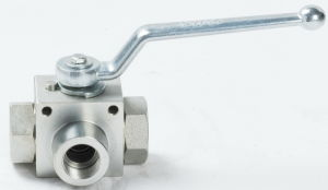 High Pressure Stainless Steel 3way Ball Valve pictures & photos