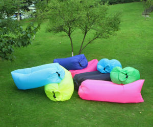 Outdoor Laybag Lazy Inflatable Lounger Sofa Bed / Sleeping Bag / Inflatable Air Sleeping Bags (C327)