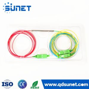 1X2 Fbt Splitter Split Ratio 50/50~10/90 Single/Dual/Tripple Fiber Optic Coupler
