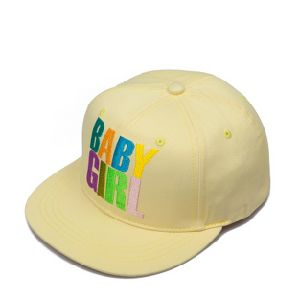 Cotton Twill 3D Embroidery Snapback Cap